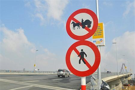 Dừng ôtô chụp ảnh trên cầu Nhật Tân sẽ bị phạt 1 triệu