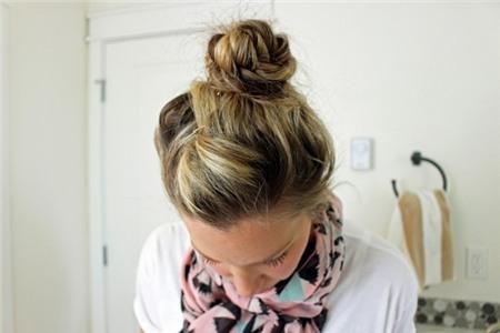 3 kiểu tóc búi duyên dáng không tốn quá 10 phút để tự thực hiện 11