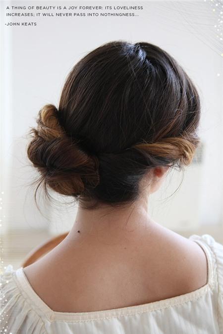 3 kiểu tóc búi duyên dáng không tốn quá 10 phút để tự thực hiện 13