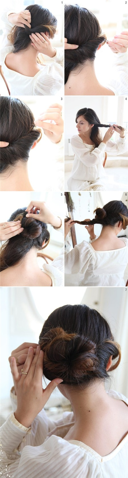 3 kiểu tóc búi duyên dáng không tốn quá 10 phút để tự thực hiện 14