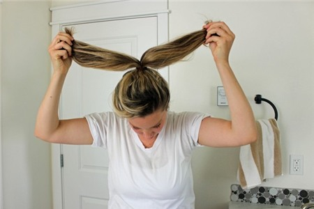 3 kiểu tóc búi duyên dáng không tốn quá 10 phút để tự thực hiện 4