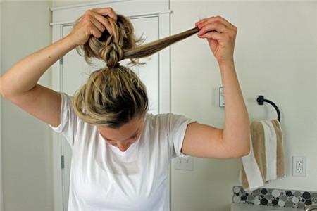 3 kiểu tóc búi duyên dáng không tốn quá 10 phút để tự thực hiện 7