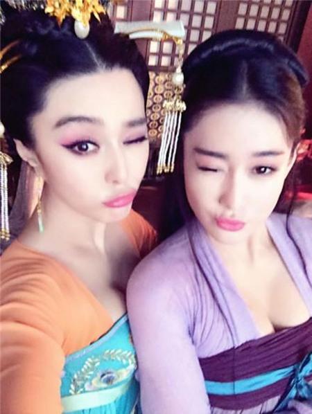 Những hình ảnh thân thiết của Trương Hinh Dư và Phạm Băng Băng khi đóng Võ Tắc Thiên chỉ còn trong quá khứ.
