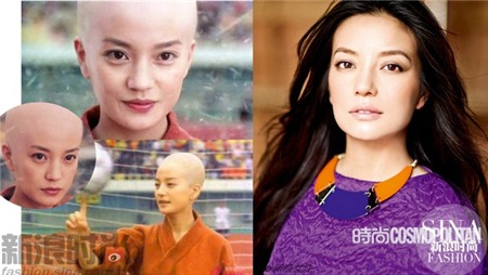 16 mỹ nữ Trung Quốc cạo trọc vẫn đẹp mê hồn