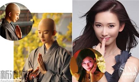 Siêu mẫu kiêm diễn viên nổi tiếng xứ Đài Lâm Chí Linh cũng rất thanh nhã khi hóa thân ni cô.