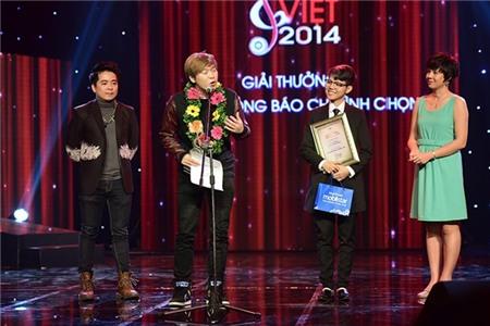 Vũ Cát Tường lập kỷ lục tại Bài hát Việt 2014
