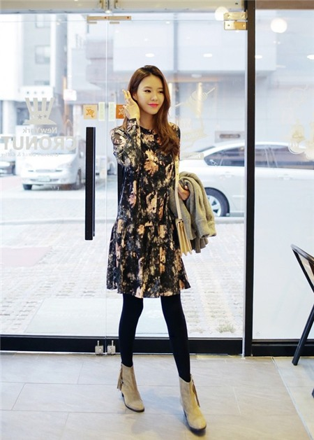 Diện váy hè giữa mùa đông - Tuyệt chiêu trị những ngày