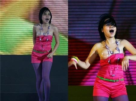 6 kiểu tai nạn phổ biến của ca sĩ Việt trên sân khấu