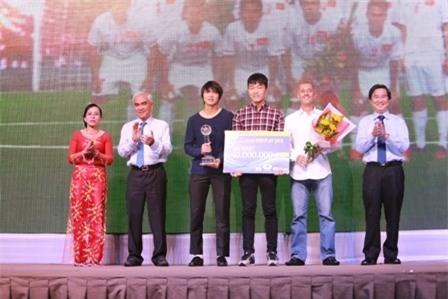 U19 Việt Nam nhận giải Fair Play 2014