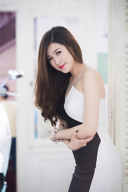 Sao Việt rạng rỡ và tươi tắn hơn với màu tóc nhuộm nâu 14