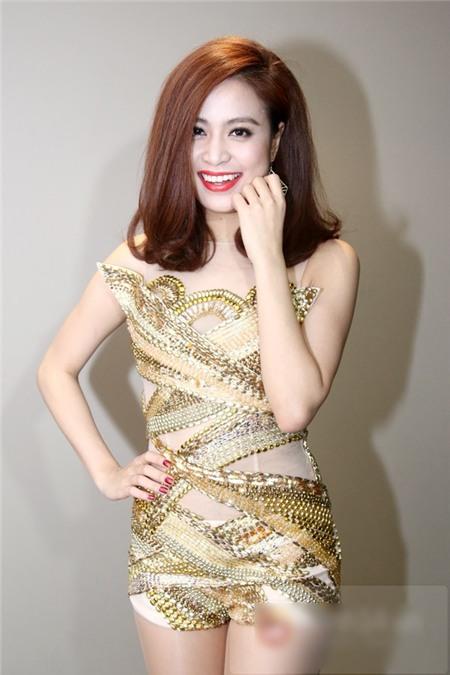 Sao Việt rạng rỡ và tươi tắn hơn với màu tóc nhuộm nâu 16