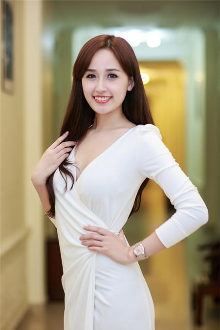 Sao Việt rạng rỡ và tươi tắn hơn với màu tóc nhuộm nâu 8