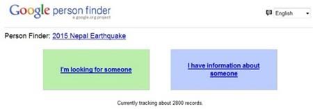 Google, Facebook vào cuộc giúp đỡ nạn nhân thảm họa động đất tại Nepal