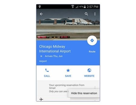 Cach dung 3 tinh nang moi cua Google Maps 9.8