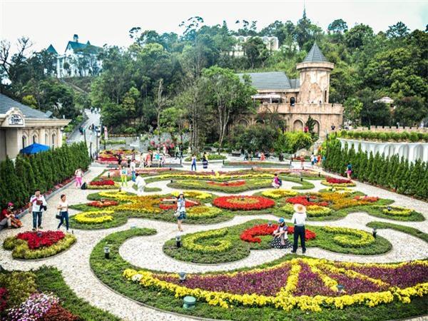 vườn hoa jardin