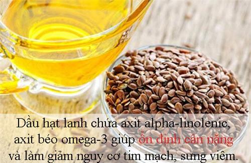 5 loại dầu ăn có lợi cho việc giảm cân - 12