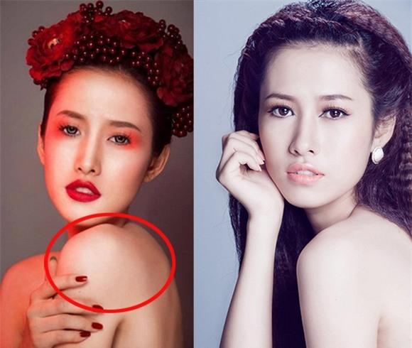 Hoa hậu, Á hậu Việt lỗi photoshop 1