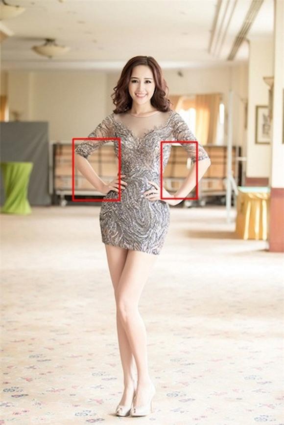 Hoa hậu, Á hậu Việt lỗi photoshop 8