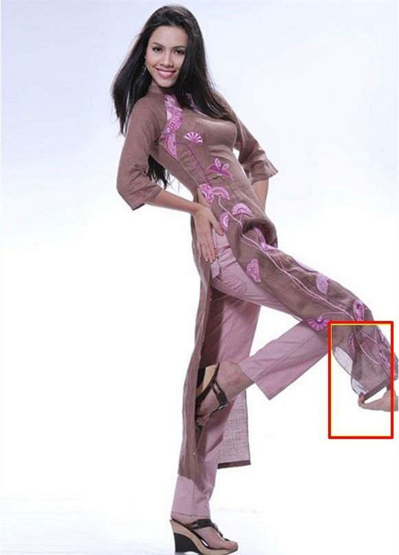 Hoa hậu, Á hậu Việt lỗi photoshop 12