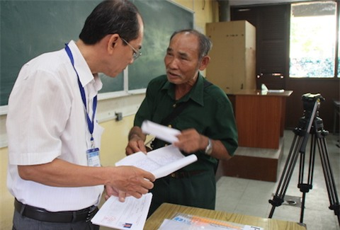 Thi sinh, 60 tuổi, dự thi ĐH, Bà Rịa- Vũng Tàu