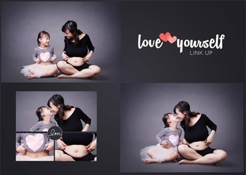Ảnh bầu cực đáng yêu mẹ chụp cùng con gái - 9