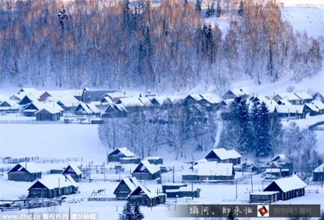 Những điểm ngắm tuyết rơi tuyệt đẹp ở Trung Quốc