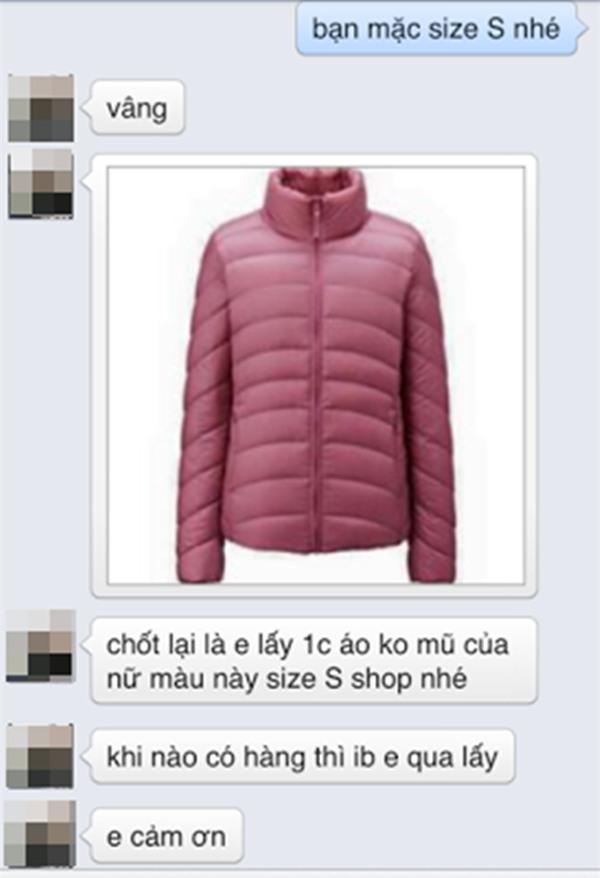 Một chủ shop ở Hà Nội bị tố bán hàng nhái quần áo Uniqlo với giá đắt đỏ - Ảnh 11.