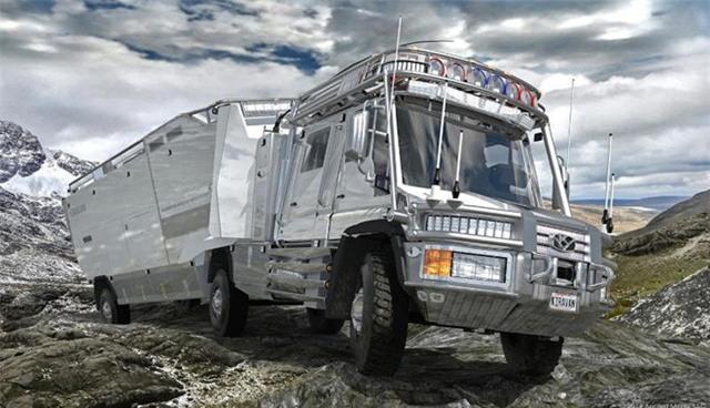 Bên trong mẫu xe tải cao cấp nhất thế giới