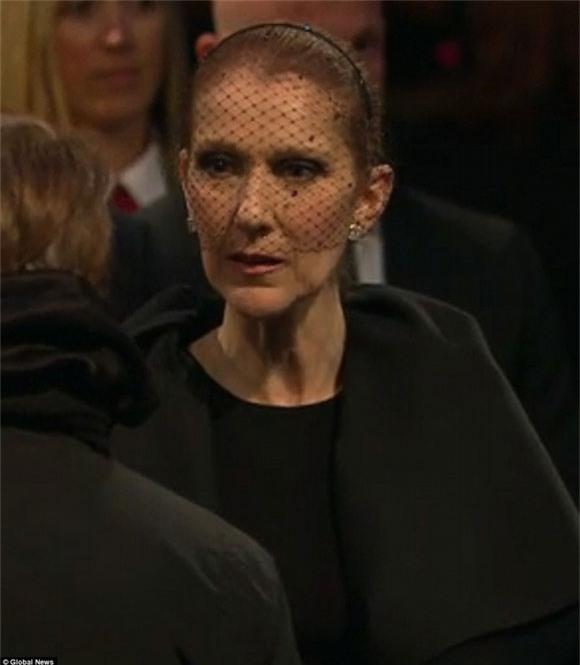 đám tang chồng Celine Dion 0