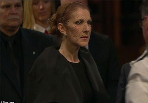 đám tang chồng Celine Dion 9