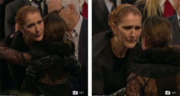 đám tang chồng Celine Dion 13