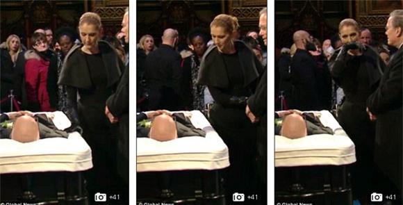 đám tang chồng Celine Dion 3
