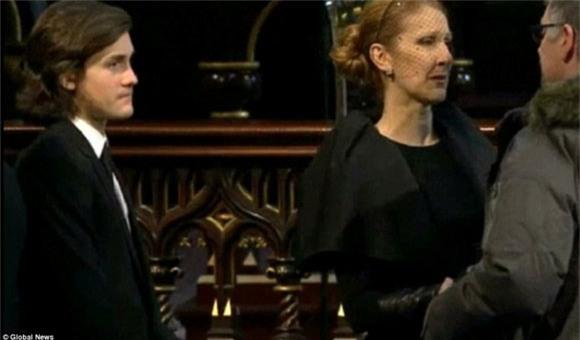 đám tang chồng Celine Dion 4