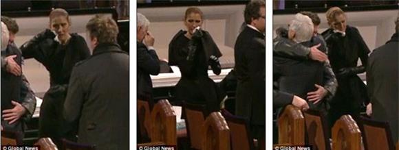 đám tang chồng Celine Dion 5