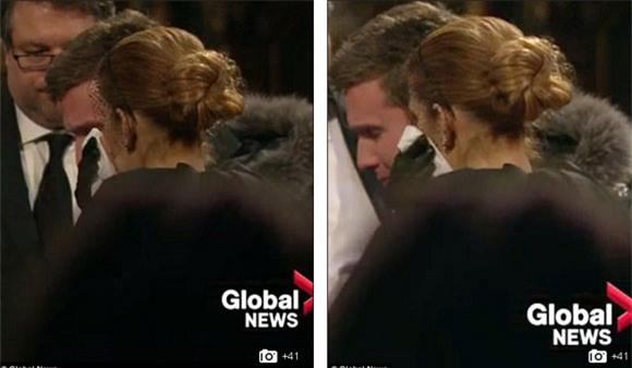 đám tang chồng Celine Dion 7