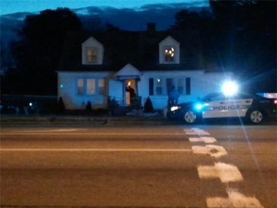 Căn nhà nơi thi thể năm thành viên nhà Dooley được phát hiện. Ảnh: Cindy Clayton