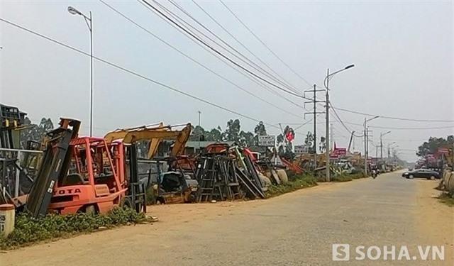 làng tỷ phú, thu mua phế liệu, làng đồng nát, đồng nát