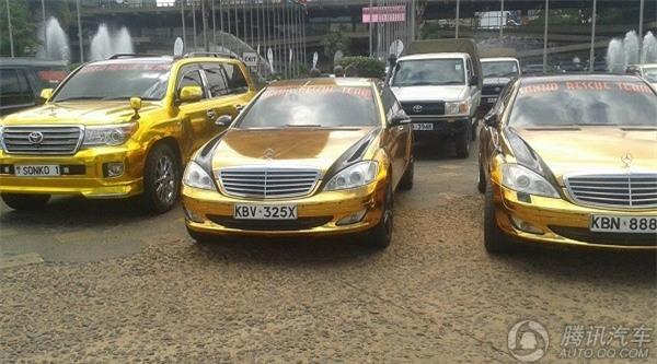 Phong cách xài vàng xa xỉ chẳng kém gì giới nhà giàu Dubai của vị đại gia châu Phi - Ảnh 9.