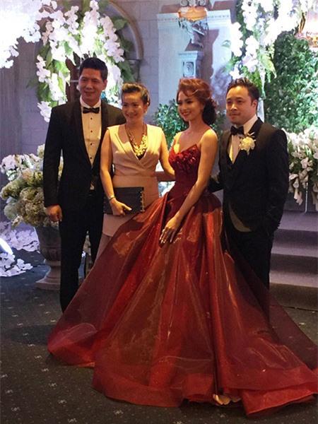 Dàn sao Việt nô nức tới chúc mừng đám cưới Victor Vũ - Đinh Ngọc Diệp