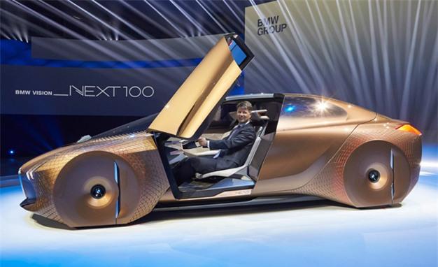 Choáng ngợp với siêu xe tới từ tương lai của BMW - Ảnh 1