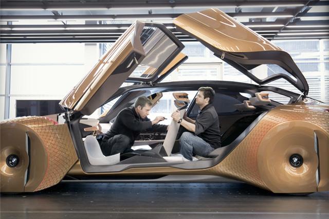 Choáng ngợp với siêu xe tới từ tương lai của BMW - Ảnh 2