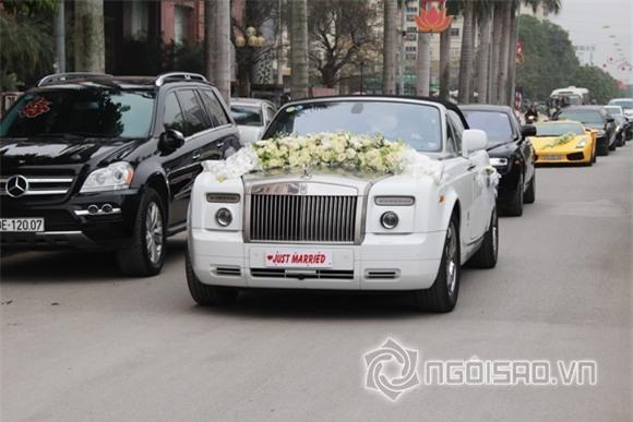 Siêu xe trong lễ rước Á hậu Trà My 7