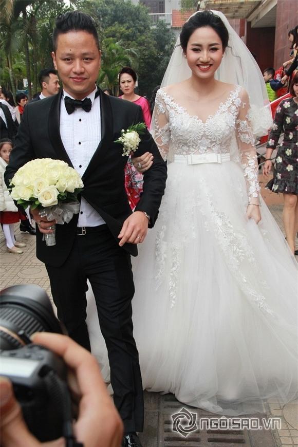 Á hậu Trà My rạng rỡ trong lễ rước dâu với chồng đại gia 1