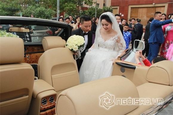 Á hậu Trà My rạng rỡ trong lễ rước dâu với chồng đại gia 6