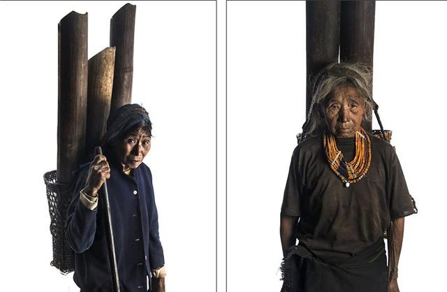 Ấn Độ, bộ tộc, săn đầu người