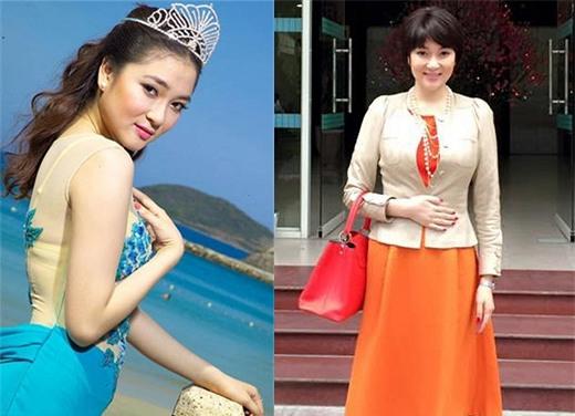 Hoa hậu Nguyễn Thị Huyền lột xác 1