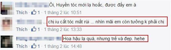 Hoa hậu Nguyễn Thị Huyền lột xác 4