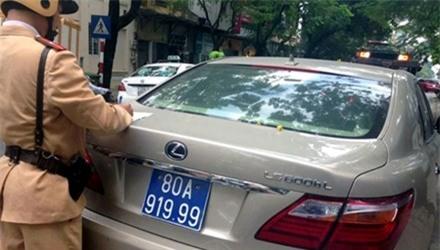 biển số xe, biển số giả, ô tô, Hà Nội, mua bán biển số giả