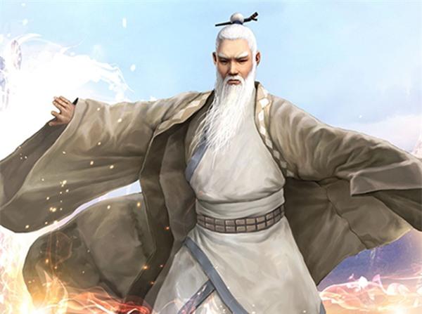 Trương Tam Phong - Nhân vật được người đời ca tụng vì võ công thâm hậu.