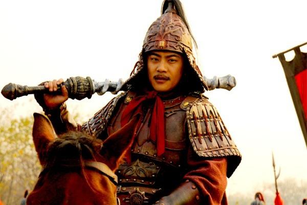 Trương Hiểu Thần vai Vũ Văn Thành Đô trong Tùy đường Anh hùng 2012. Ảnh: Internet.